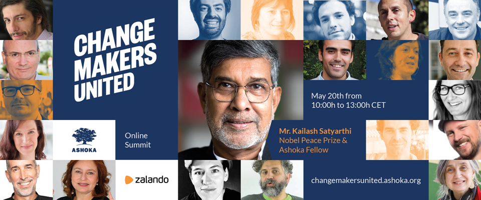 Ashoka Invitation: Online Summit Changemakers United – together against Covid-19